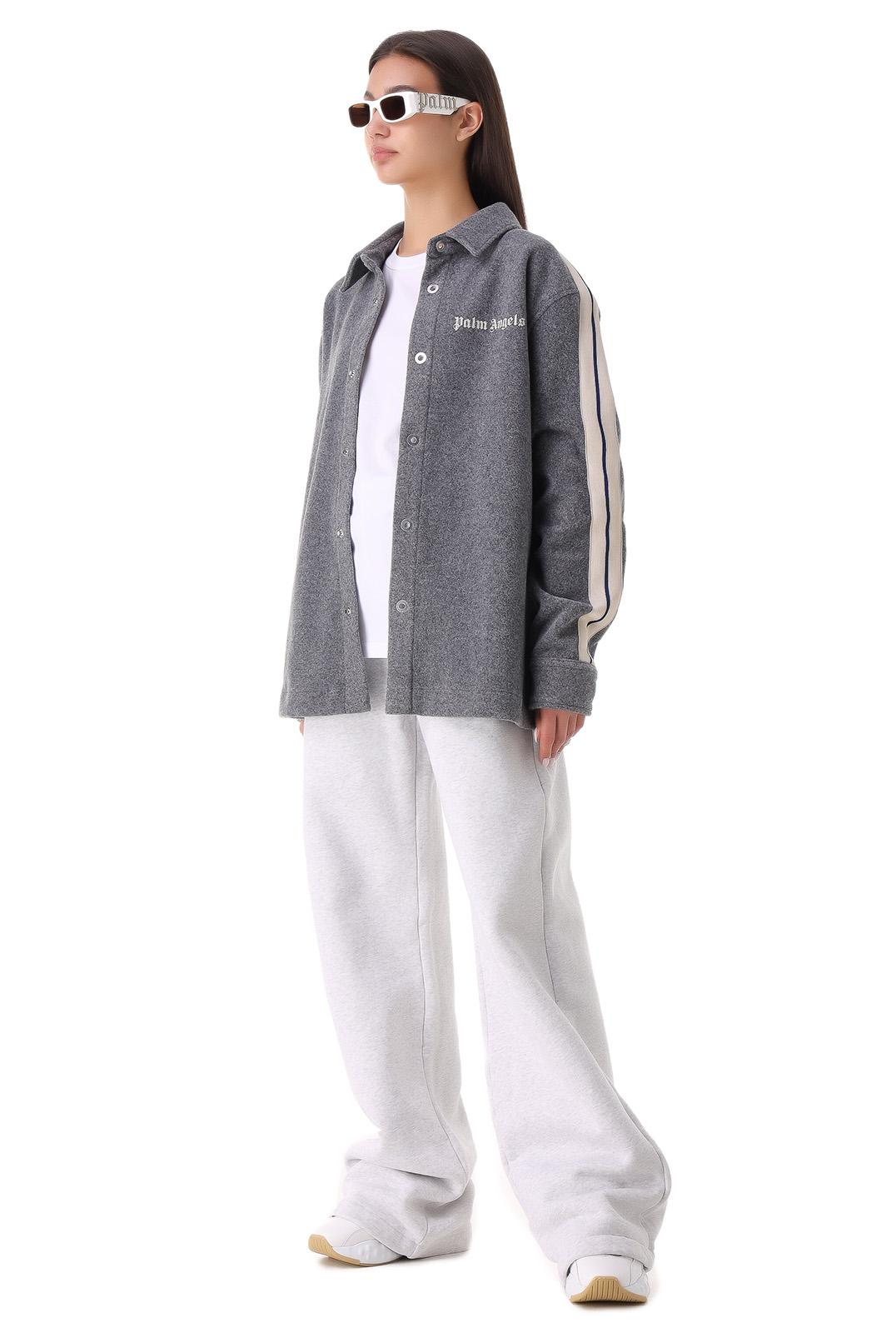 Куртка-рубашка oversize PALM ANGELS PLMw21036