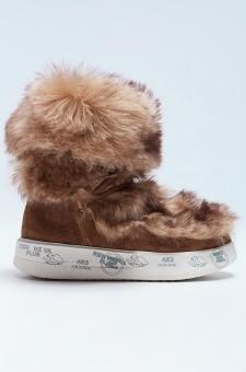 Ботинки на меху