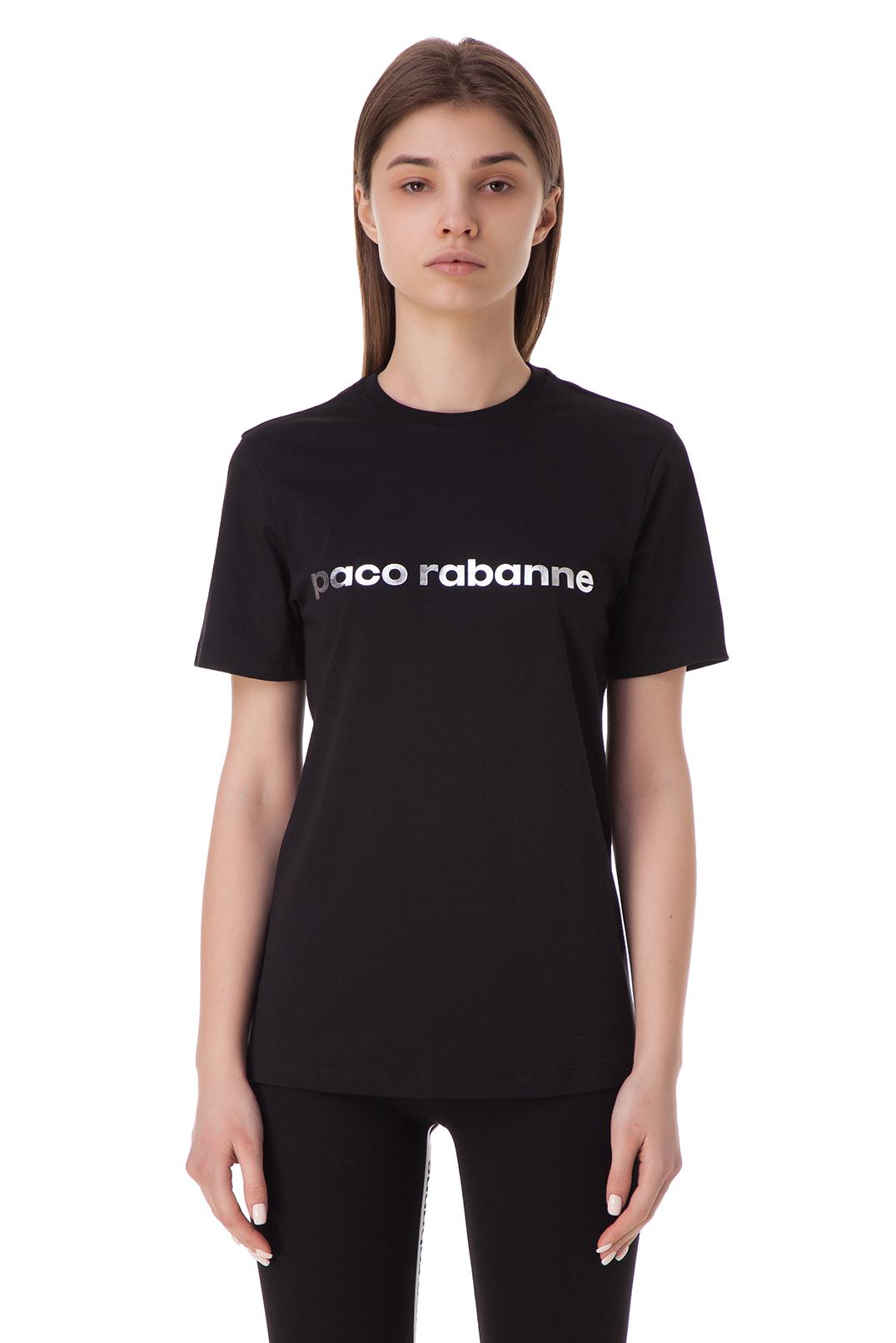 Футболка с логотипом PACO RABANNE PRp10009