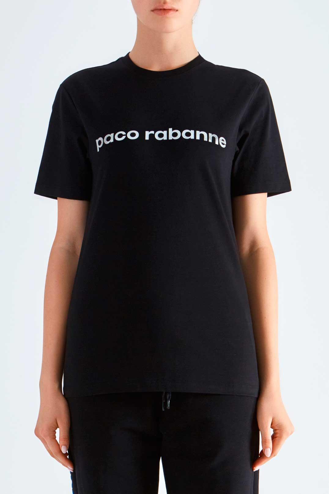 Футболка с логотипом PACO RABANNE PRp29006