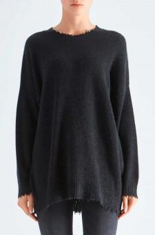 Удлиненный свитер oversize