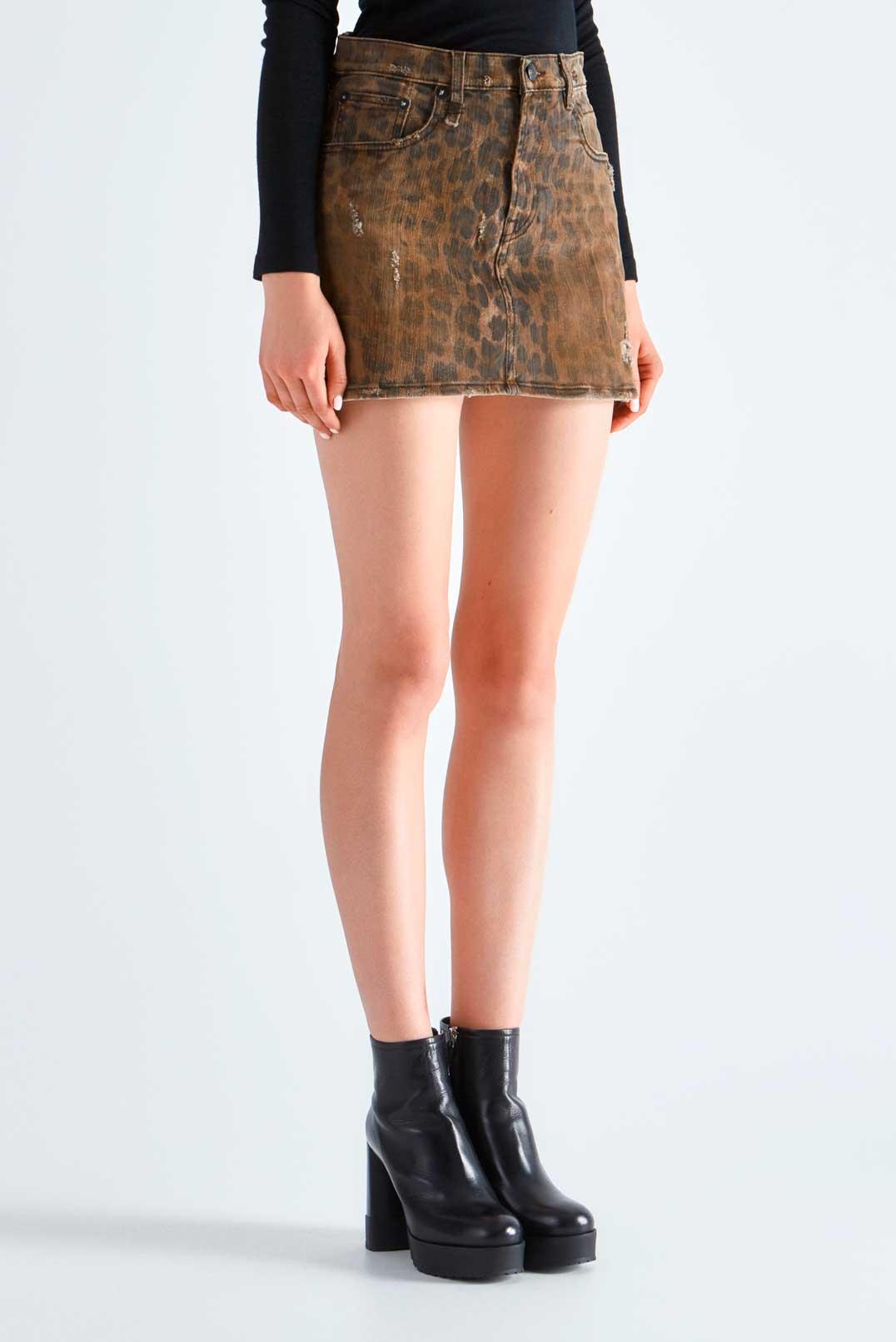 Джинсовая юбка R13 R13p29001