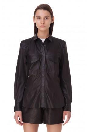 RAIINE Кожаная рубашка
