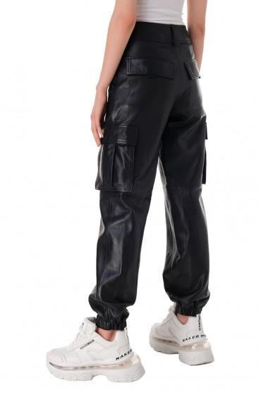 Кожаные брюки RAIINE RAIN11007
