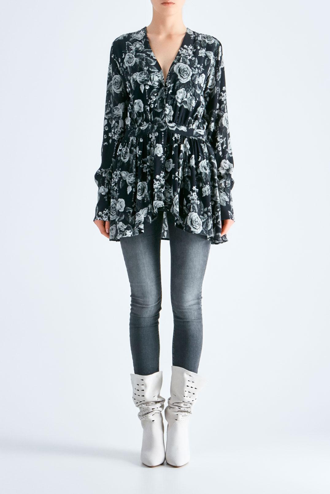 Блуза с баской RAIINE RAIN19005