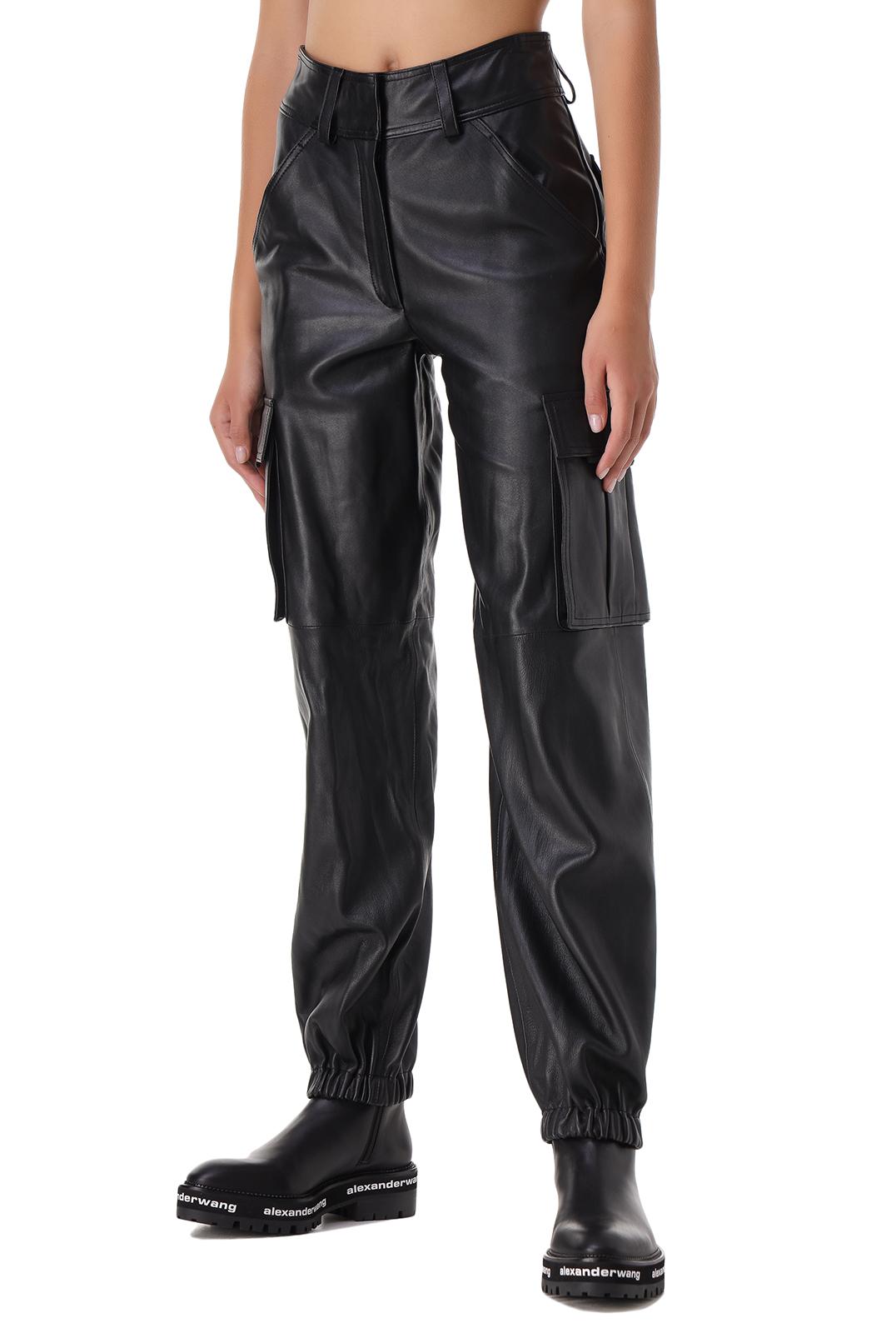 Кожаные брюки RAIINE RAIN21002