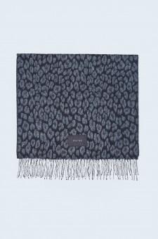 Леопардовый шарф