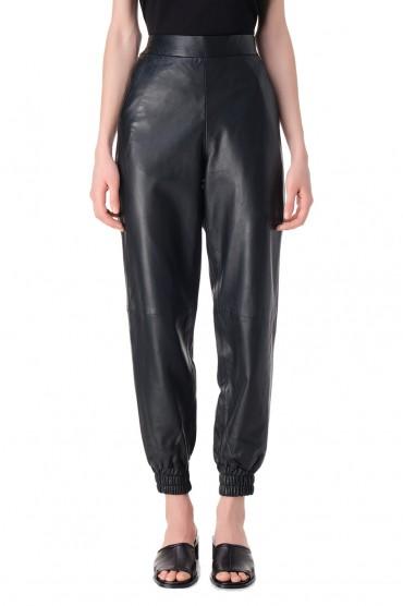Кожаные брюки REMAIN REM11013