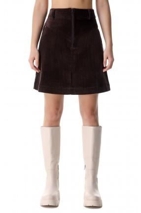 REMAIN Вельветовая юбка