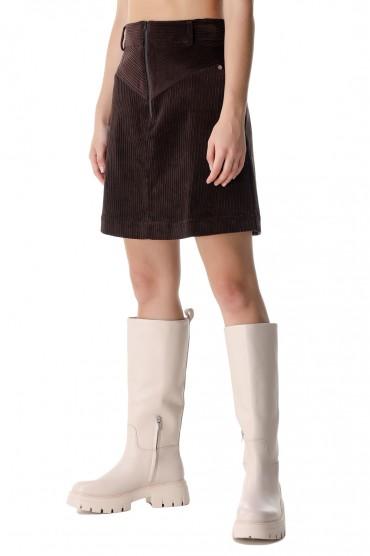 Вельветовая юбка REMAIN REM21005