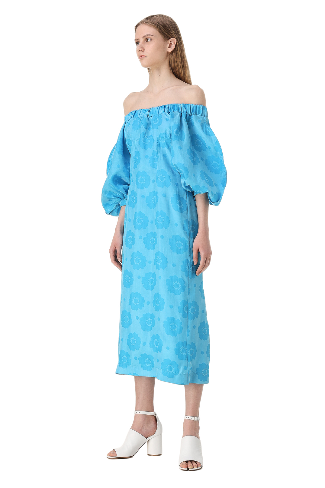 Платье с принтом REJINA PYO REP11007