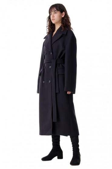 Двубортное пальто oversize ROHE ROH21012