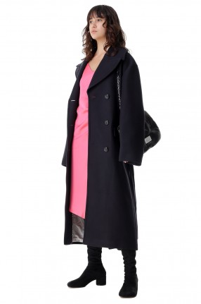 ROHE Двубортное пальто oversize