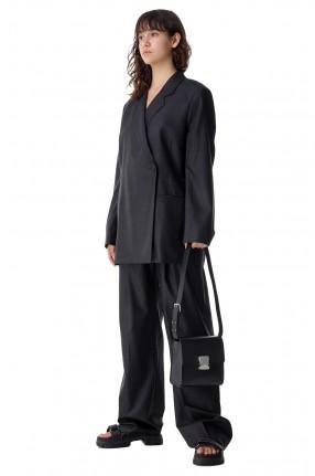 ROHE Двубортный пиджак oversize в полоску