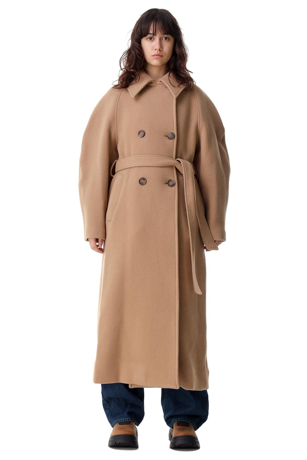 Двубортное пальто oversize ROHE ROH21020