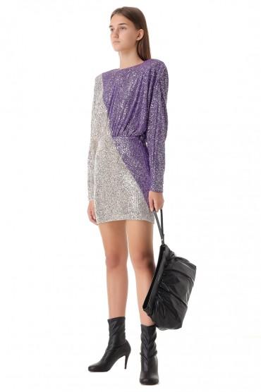 Платье в пайетках ROTATE ROT21011