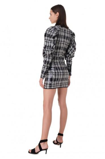 Платье в пайетках ROTATE ROTp11001
