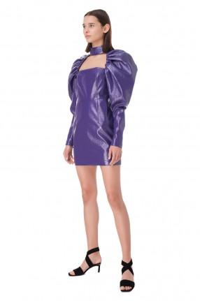 ROTATE Платье из эко-кожи