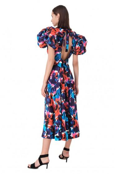 Платье с принтом ROTATE ROTp11009