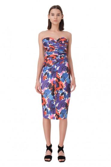 Платье-бюстье с принтом ROTATE ROTp11011