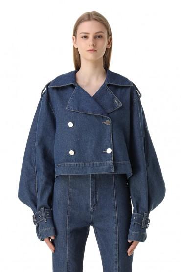 Джинсовая куртка ROTATE ROTw11001