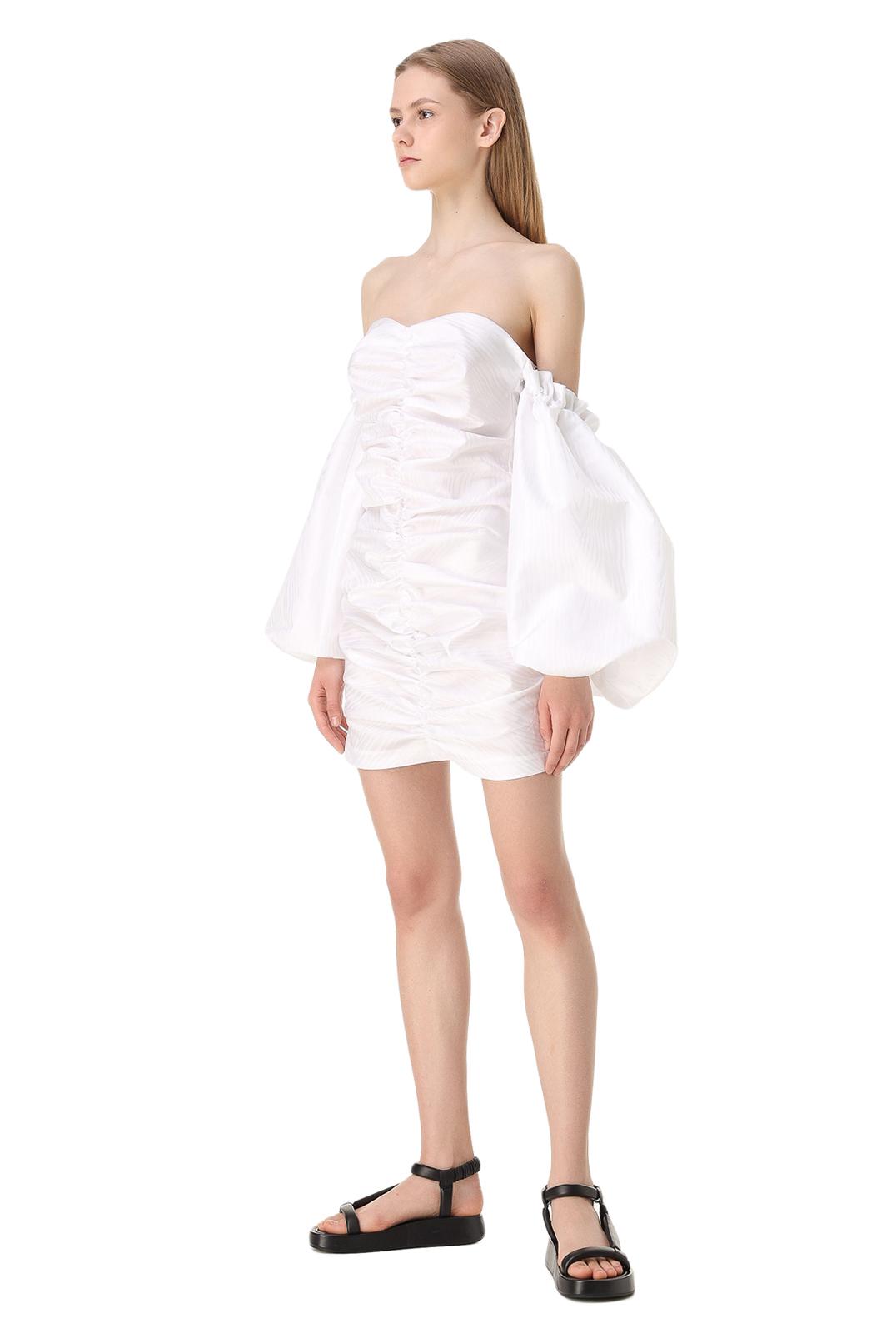 Платье-бюстье с рукавами-буфами ROTATE ROTw11009