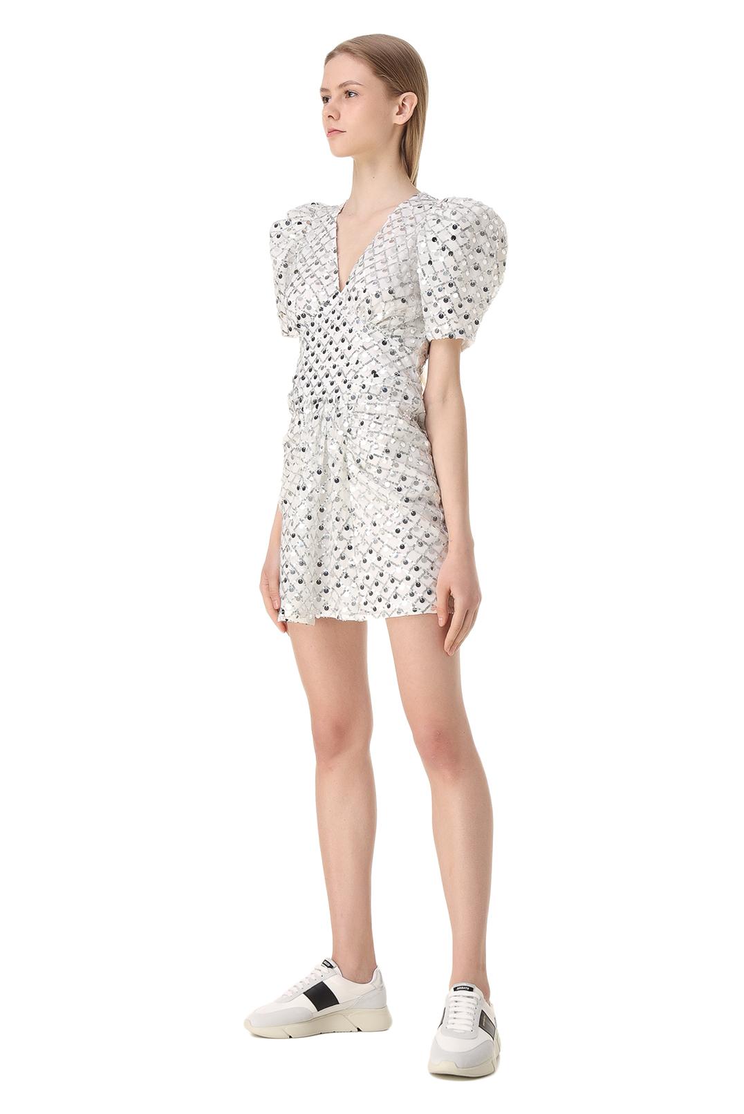 Платье в пайетках ROTATE ROTw11010