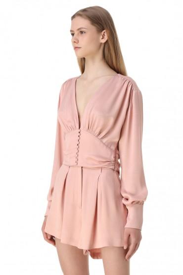 Укороченная блуза ROTATE ROTw11016