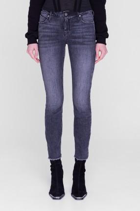 RTA Укороченные джинсы с потертостями