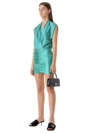 THE SEI Шелковая юбка
