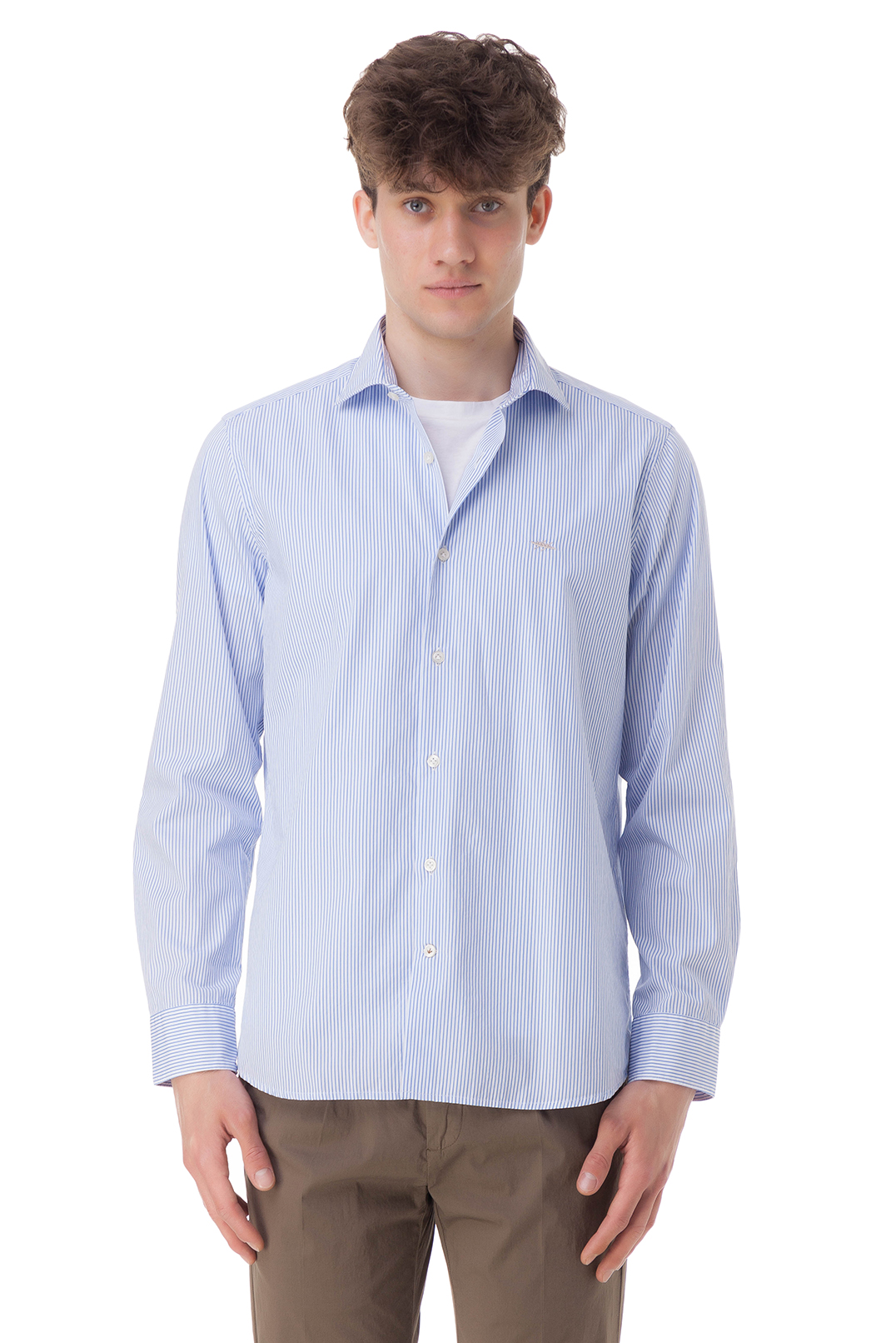 Рубашка в полоску SEVENTY SEV10007
