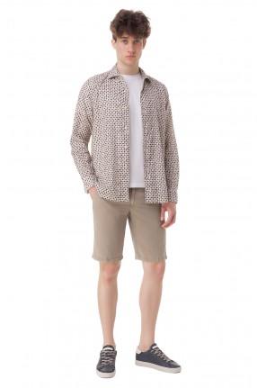 SEVENTY Рубашка с принтом