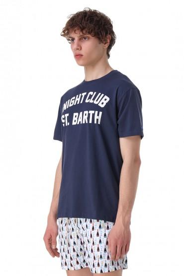 Футболка с принтом MC2 ST.BARTH STBm11023
