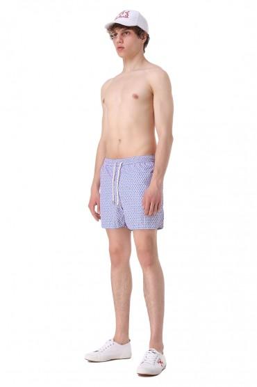 Плавательные шорты с принтом MC2 ST.BARTH STBm11055