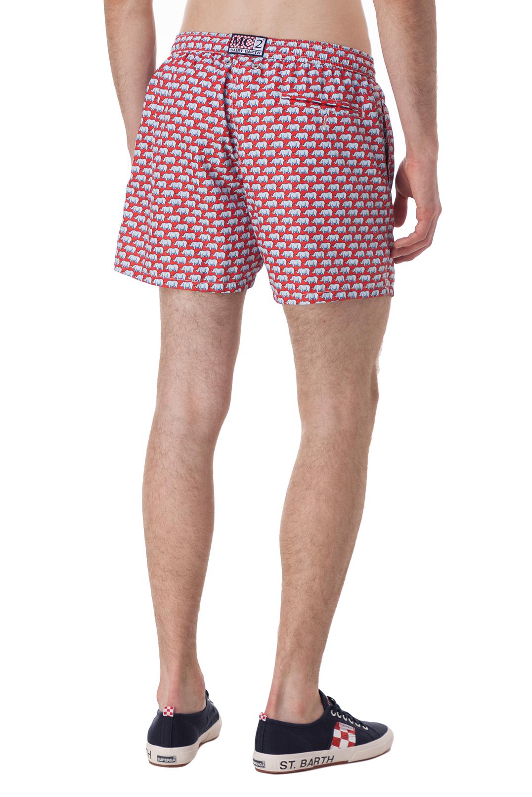 Плавательные шорты с принтом MC2 ST.BARTH STBm18010