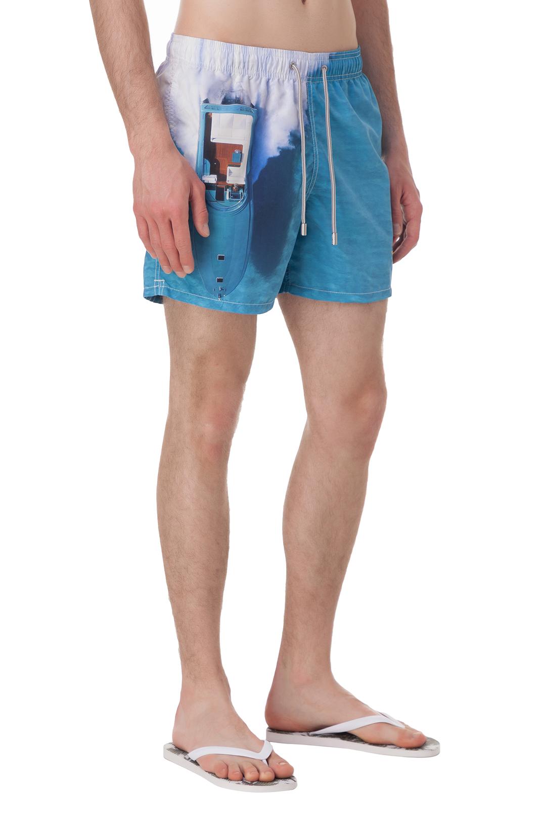 Плавательные шорты с принтом MC2 ST.BARTH STBm18022