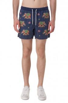 Плавательные шорты с вышивкой