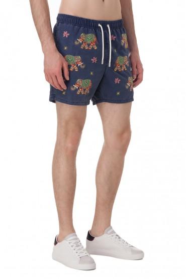 Плавательные шорты с вышивкой MC2 ST.BARTH STBm18025