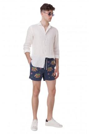 MC2 ST.BARTH Плавательные шорты с вышивкой