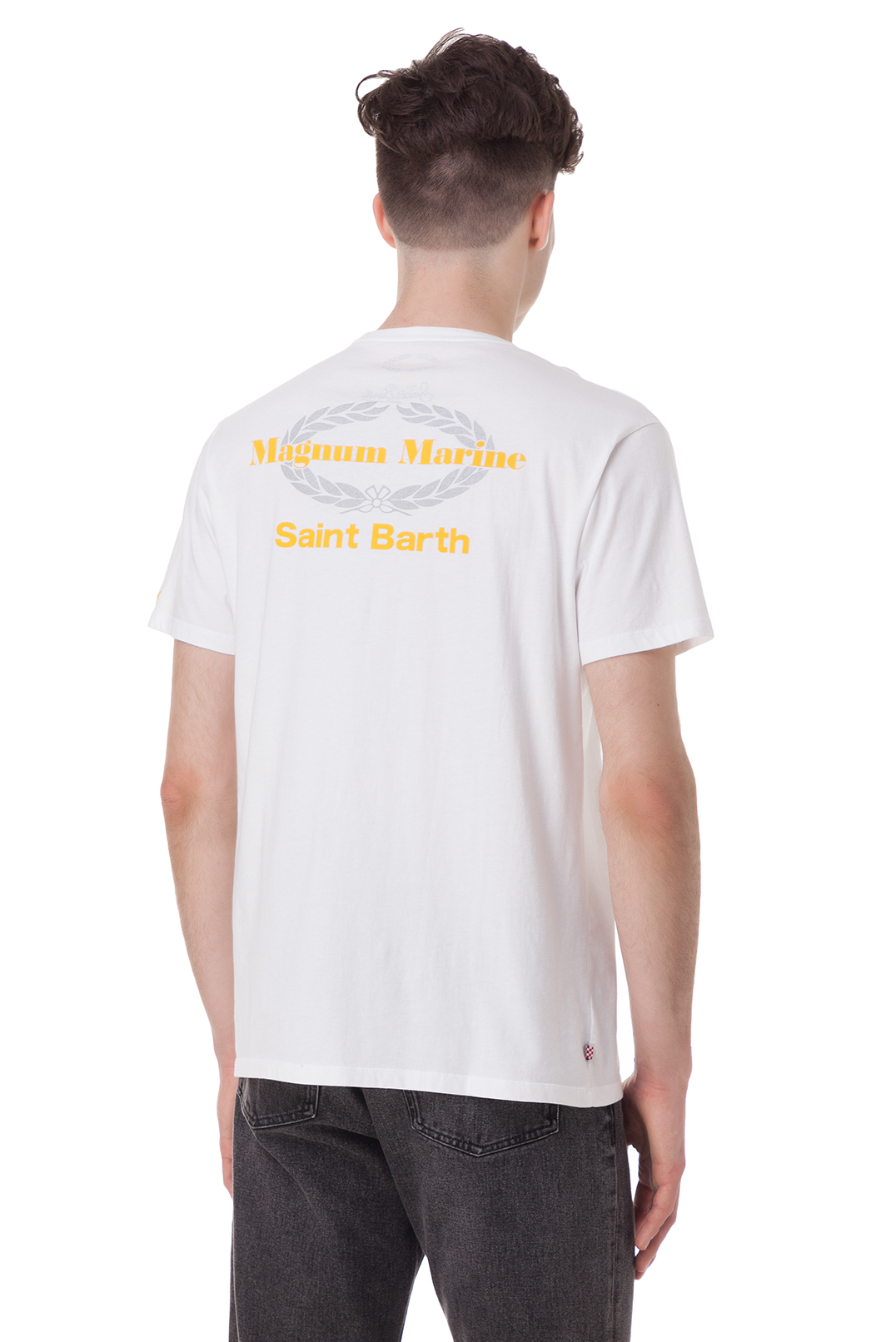 Футболка с логотипом MC2 ST.BARTH STBm18035
