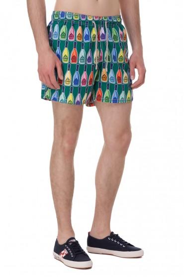 Плавательные шорты с принтом MC2 ST.BARTH STBm18065