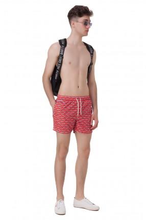 MC2 ST.BARTH Плавательные шорты с принтом