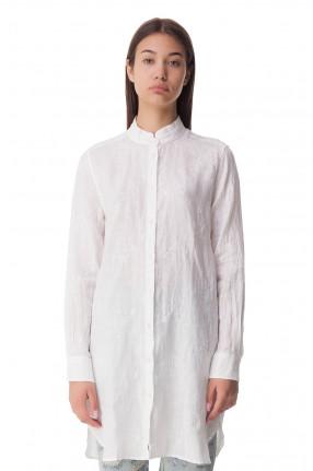 MC2 ST.BARTH Удлиненная рубашка с вышивкой