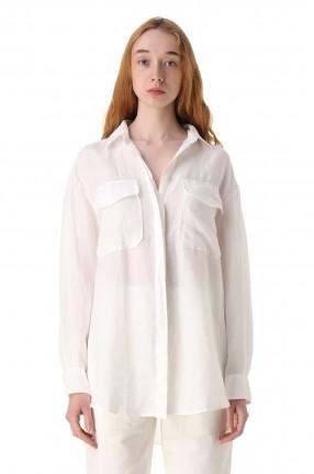 MC2 ST.BARTH Рубашка oversize с логотипом