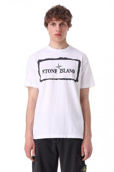 Футболка с логотипом STONE ISLAND STm11020