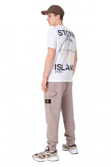 Футболка с принтом STONE ISLAND STm11023