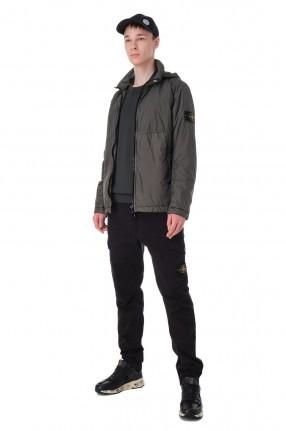 STONE ISLAND Куртка с потайным капюшоном и съемным патчем