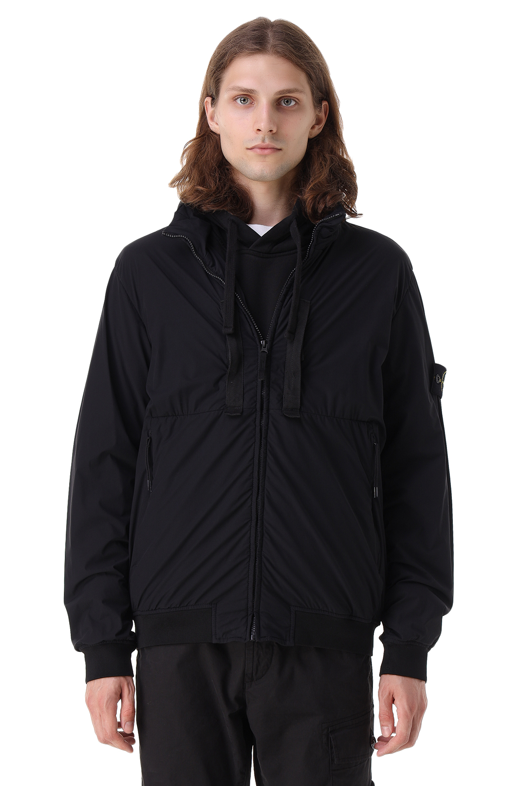 Куртка с потайным капюшоном STONE ISLAND STm21046