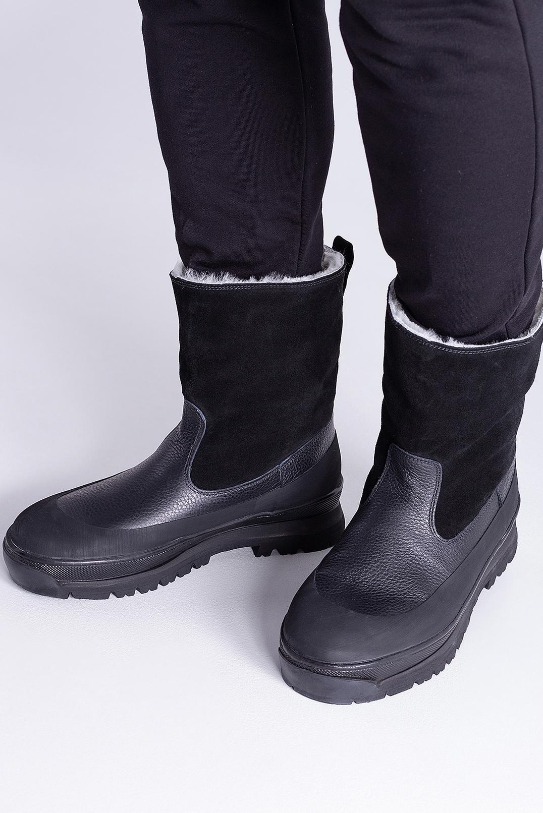 Ботинки на меху STONE ISLAND STm29030