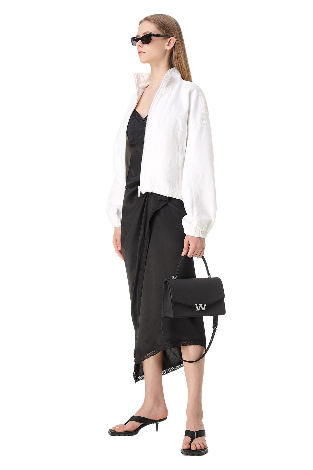 Асимметричное платье-комбинация ALEXANDER WANG TAW11017